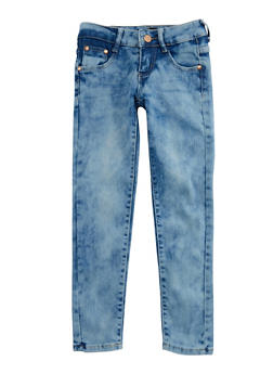 Girls 7-14 Basic Skinny Jeans - 3629073420005