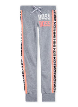 Girls 7-16 Boss Graphic Joggers - 3631063400053