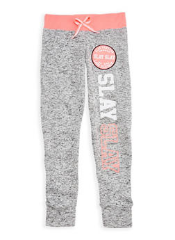 Girls 7-16 Slay Forever Graphic Joggers - 3631063400061