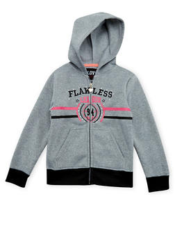 Girls 7-16 Flawless League 94 Graphic Hoodie - 3631063401427