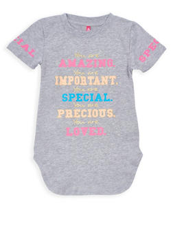 Girls 4-6x You are Special Graphic Top - 3634066590104