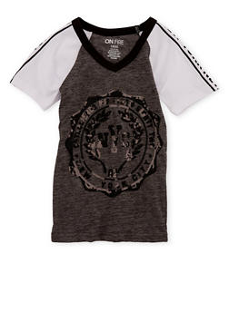Girls 7-16 NYC Graphic Sequin T Shirt - 3635033870107