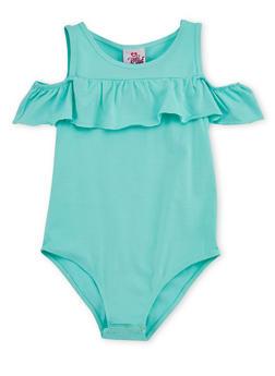 Girls 7-16 Ruffled Bodysuit - 3635054730005