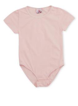 Girls 7-16 Apple Bottoms Short Sleeve Bodysuit - 3635054730008