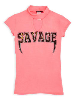 Girls 7-16 Savage Graphic Top - 3635066590241