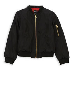 Girls 4-6x Bomber Jacket - 3636051060048
