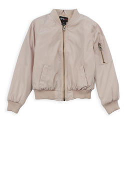 Girls 4-7 Bomber Jacket - 3636051060049