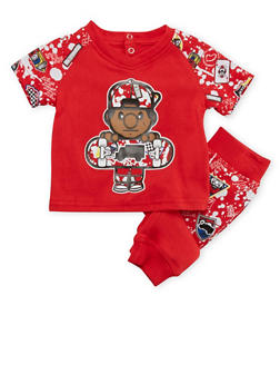 Baby Boys Trukfit T-Shirt and Joggers Set - 3654073453000