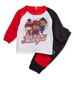 Baby Boy Trukfit T-Shirt and Joggers Set - 3654073453012