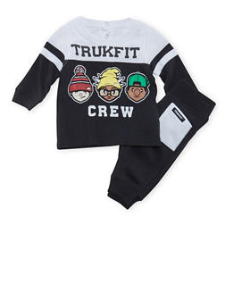 Baby Boy Trukfit T-Shirt and Joggers Set - 3654073453013