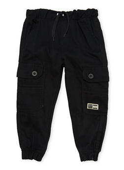 Boys 4-7 BHPC Solid Twill Cargo Pants - 3701061950006