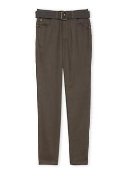 Boys 8-16 Twill Cargo Pants - 3702054730020