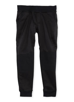 Boys 8-18 Moto Fleece Joggers - 3702061950015