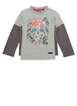 Boys 4-7 Sean John Top with Skull Graphic - 3703072750025