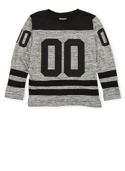 Boys 8-18 Varsity Top with Graphic - 3704023130012