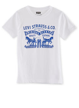 Boys 8-20 Levis T-Shirt with Logo Graphic - 3704070340115