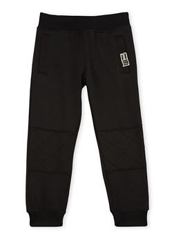 Boys 4-7 BHPC Joggers with Moto Panel - 3706061950002