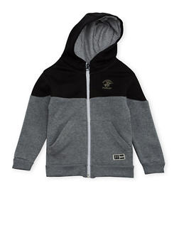 Boys 4-7 BHPC Paneled Hoodie with Graphic - 3706061950005