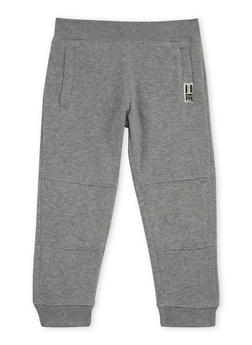 Boys 4-7 BHPC Joggers with Quilted Knee Panels - 3706061950006