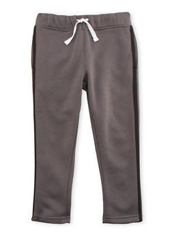 Boys 4-7 French Toast Fleece Sweatpants with Stripe - 3706068320004