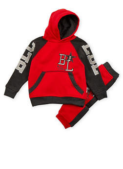 Boys 4-7 Blac Label Hoodie and Joggers Set - 3715061950075