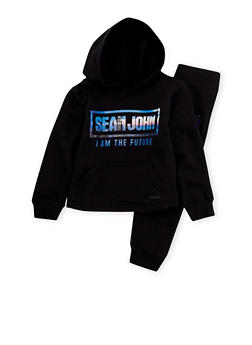 Boys 4-7 Sean John Hoodie and Joggers Set with Future Graphic - 3715072750002
