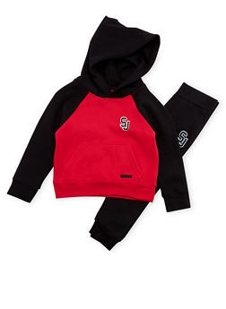 Boys 4-7 Sean John Hoodie and Joggers Set - 3715072750003
