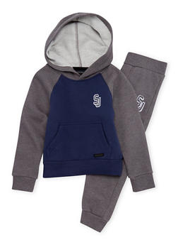 Boys 4-7 Sean John Hoodie and Joggers Set - 3715072750004