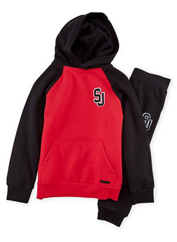 Boys 8-20 Sean John Raglan Hoodie and Joggers - 3716072750003