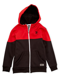 Boys 8-20 BHPC Hoodie with Zip Front - 3721061950077