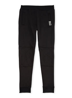 Boys 8-20 BHPC Joggers with Moto Panels - 3721061950078