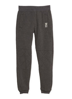 Boys 8-20 BHPC Joggers with Quilted Knees - 3721061950080