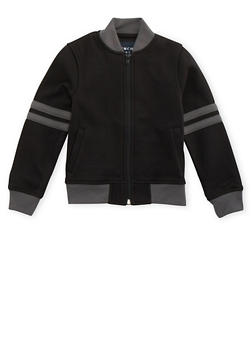 Boys 8-16 French Toast Varsity Bomber Jacket - 3721068320001