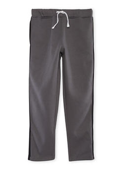 Boys 8-16 French Toast Fleece Sweatpants with Stripe - 3721068320004
