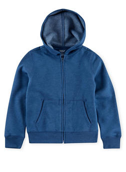 Boys 8-18 French Toast Zip Front Hoodie - 3721068320007