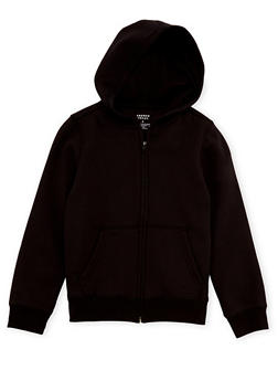 Boys 8-16 French Toast Zip Front Hoodie - 3721068320011
