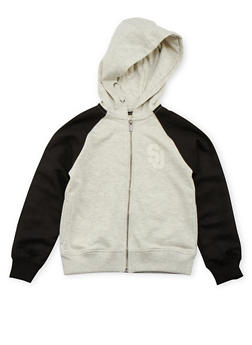 Boys 8-20 Sean John Hoodie with Raglan Sleeves - 3721072750001