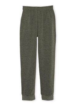 Boys 4-7 Heathered Fleece Sweatpants - 3732054730002