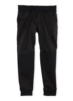 Boys 4-7 Moto Fleece Joggers - 3732061950030