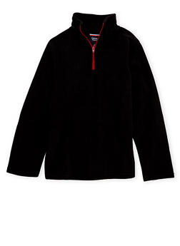 Boys 4-6 French Toast Fleece Top with Zipper - 3732068320024