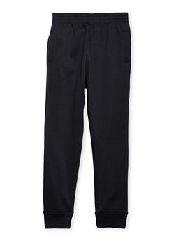Boys 8-20 Solid Fleece Joggers - 3733049020002
