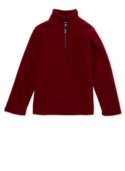 Boys 8-16 French Toast Fleece Top with Zipper - 3733068320020