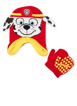 Boys Paw Patrol Beanie and Mittens Set - 3737067500033