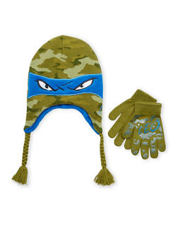Boys Leonardo Hat and Gloves Set - 3737067500051