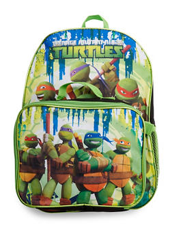 Teenage Mutant Ninja Turtles Backpack with Lunch Bag - 3742037540075