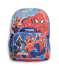 Boys Spiderman Backpack and Lunch Bag Combo - 3742052990330