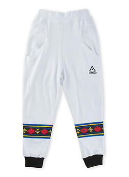 Boys 8-20 Solid Knit Joggers - 3779073451009