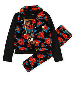 Girls 4-6x Trukfit Top with Vest and Pants Set - 3780073452103