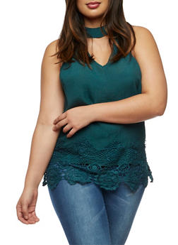 Plus Size Keyhole Peasant Top - 3803056122937