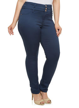 Plus Size Almost Famous Stretch Jeans - 3870015992897